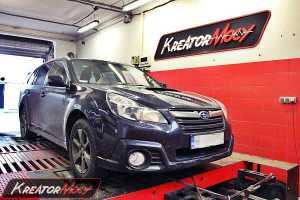 Chip tuning Subaru Outback 2.0d 150 KM (automat)