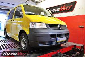 Chip tuning VW T5 1.9 TDI 84 KM