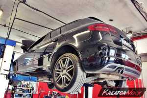 Uszkodzony DPF Audi A3 8P 2.0 TDI CR 170 KM
