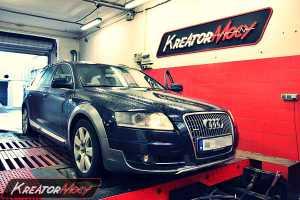 Chip tuning Audi A6 C6 Allroad 3.0 TDI 233 KM