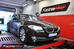 Chip tuning BMW F10 525d 2.0d 218 KM