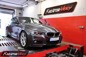 Chip tuning BMW F30 335i 306 KM