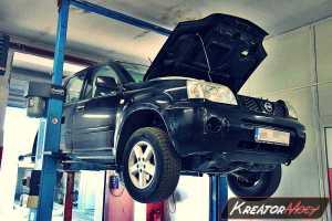 Uszkodzony DPF Nissan Xtrail 2.2 DCI 136 KM