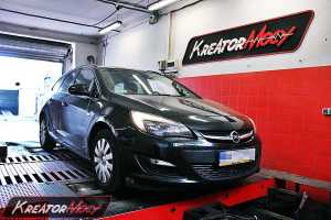 Chip tuning Opel Astra IV 1.4 Turbo 120 KM