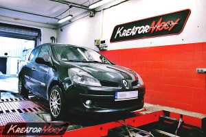 Chip tuning Renault Clio 3 1.2 TCE 101 KM