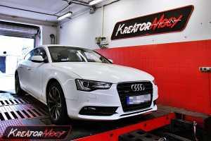 Chip tuning Audi A5 2.0 TDI 190 KM