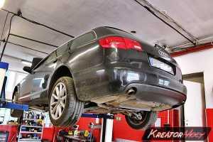 Zapchany DPF Audi A6 C6 3.0 TDI 224 KM