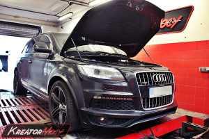 Chip tuning Audi Q7 3.0 TDI 245 KM
