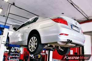 Zapchany DPF BMW E60 520d 177 KM