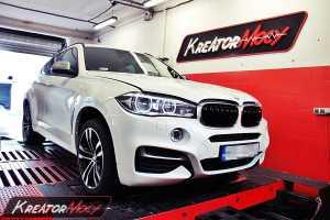 Podniesienie mocy BMW X6 F16 M50d 381 KM