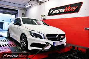 Chip tuning Mercedes A45 AMG 360 KM W176