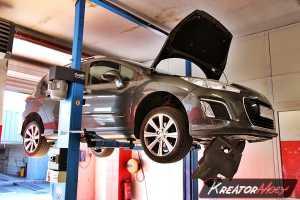 Zapchany FAP Peugeot 308 1.6 HDI 112 KM