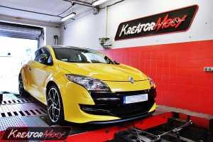 Chip tuning Renault Megane 3 RS 2.0T 250 KM
