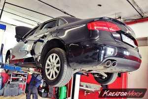 Zapchany DPF Audi A4 B8 2.0 TDI 143 KM