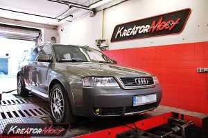 Chip tuning Audi Allroad 2.7T 250 KM