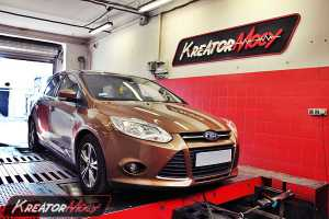 Chip tuning Ford Focus MK3 1.0 EcoBoost 125 KM