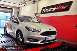 Chip tuning Ford Focus MK3 1.6 TDCI 95 KM