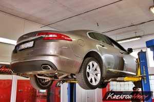 Zapchany DPF Jaguar XF 3.0d 240 KM