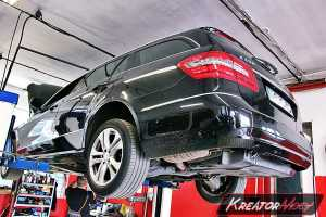 Usuwanie DPF Mercedes E 250 CDI 204 KM (W212)
