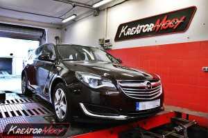 Chip tuning Opel Insignia 2.0 CDTI 110 KM 2014