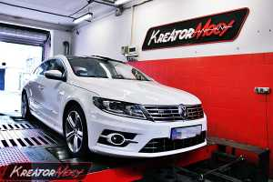 Chip tuning VW CC 2.0 TDI 143 KM