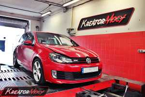 Chip tuning VW Golf 6 GTI 2.0 TSI 210 KM