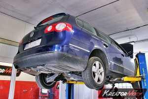 Uszkodzony DPF VW Passat B6 1.9 TDI 105 KM