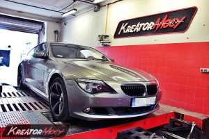 Chip tuning BMW E63 635d 286 KM