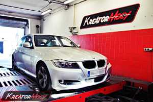 Chip tuning BMW E90 320d 163 KM 380 Nm