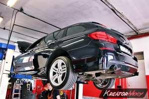 Usuwanie DPF BMW F11 535d 299 KM
