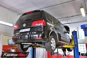 Usuwanie DPF VW Touran 1.6 TDI 105 KM