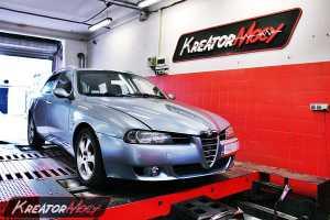 Chip tuning Alfa Romeo 156 2.4 JTD 175 KM