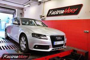 Chip tuning Audi A4 B8 3.0 TDI 240 KM