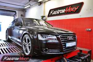 Chip tuning Audi A8 4.2 TDI CR 350 KM