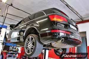 Uszkodzony DPF Audi Q7 4.2 TDI 326 KM