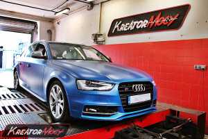 Chip tuning Audi S4 3.0 TFSI 333 KM S-TRONIC