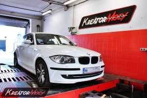 Chip tuning BMW E81 116d 115 KM