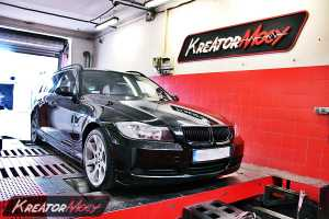 Chip tuning BMW 3 E91 2.0d 163 KM