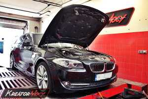 Chip tuning BMW F11 2.0d Biturbo 218 KM