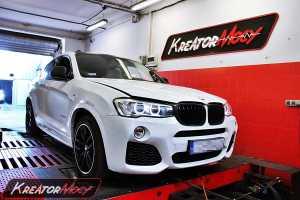 Chip tuning BMW F26 X4 2.0d 190 KM