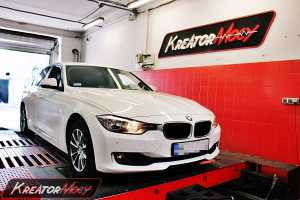 Chip tuning BMW 3 F30 1.6 Turbo 136 KM