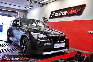 Chip tuning BMW X1 2.0d 177 KM
