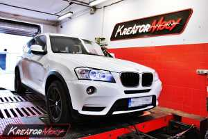 chip tuning bmw x3 f25 xdrive20d 184 km kreator mocy. Black Bedroom Furniture Sets. Home Design Ideas