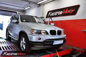 Chip tuning BMW X5 E53 3.0d 184 KM