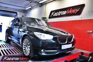 Chip tuning BMW 5 GT F07 535d 313 KM