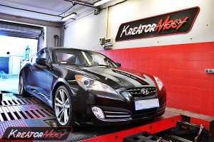 Podniesienie mocy Hyundai Genesis Coupe 2.0T 214 KM