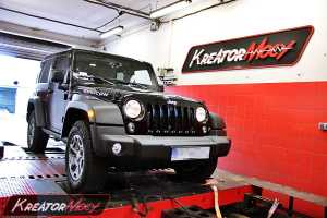 Chip tuning Jeep Wrangler Rubicon 2.8 CRD 200 KM