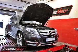 Chip tuning Mercedes GLK 220 CDI 170 KM