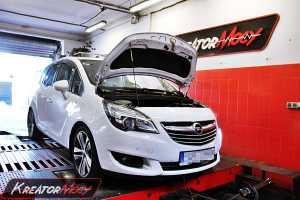 Chip tuning Opel Meriva 1.4T 120 KM LPG