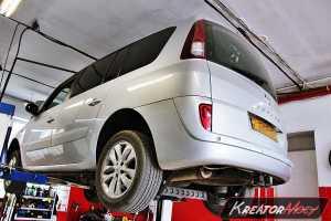 Zapchany FAP Renault Espace 2.0 DCI 173 KM